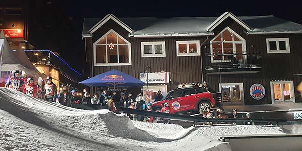 Mini event under alpina VM i Åre