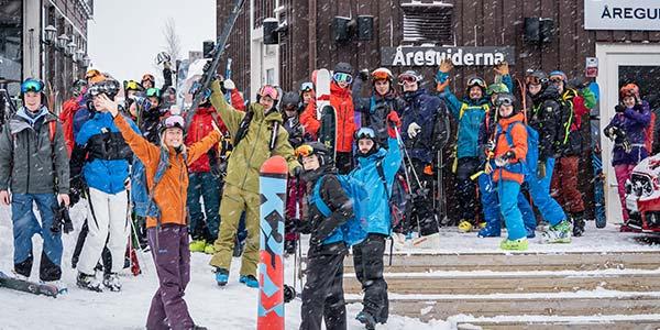 Salomon MTN collective junior event i Åre