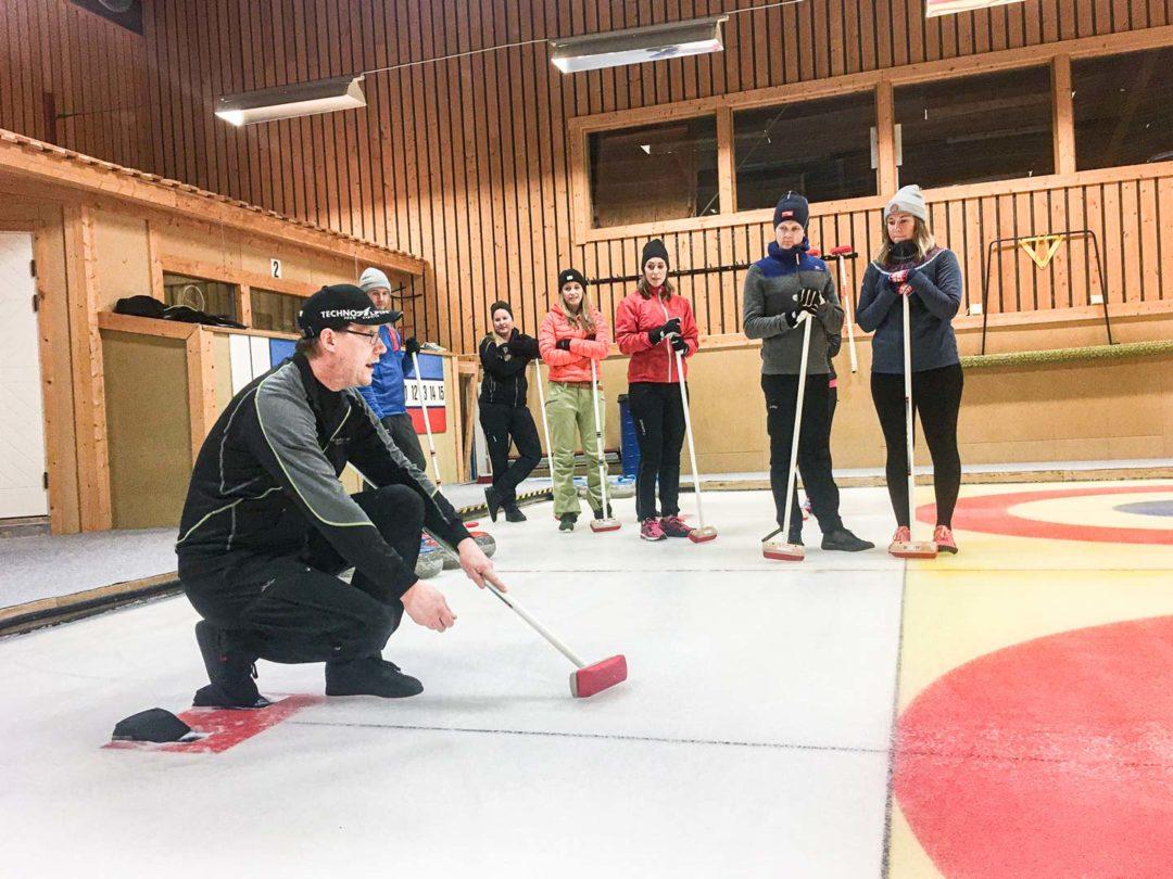 Curling åre