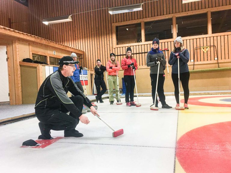 Curling åre