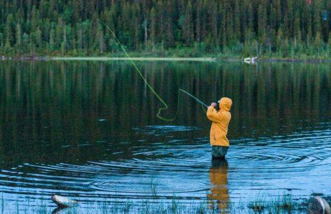 Fishing in åre
