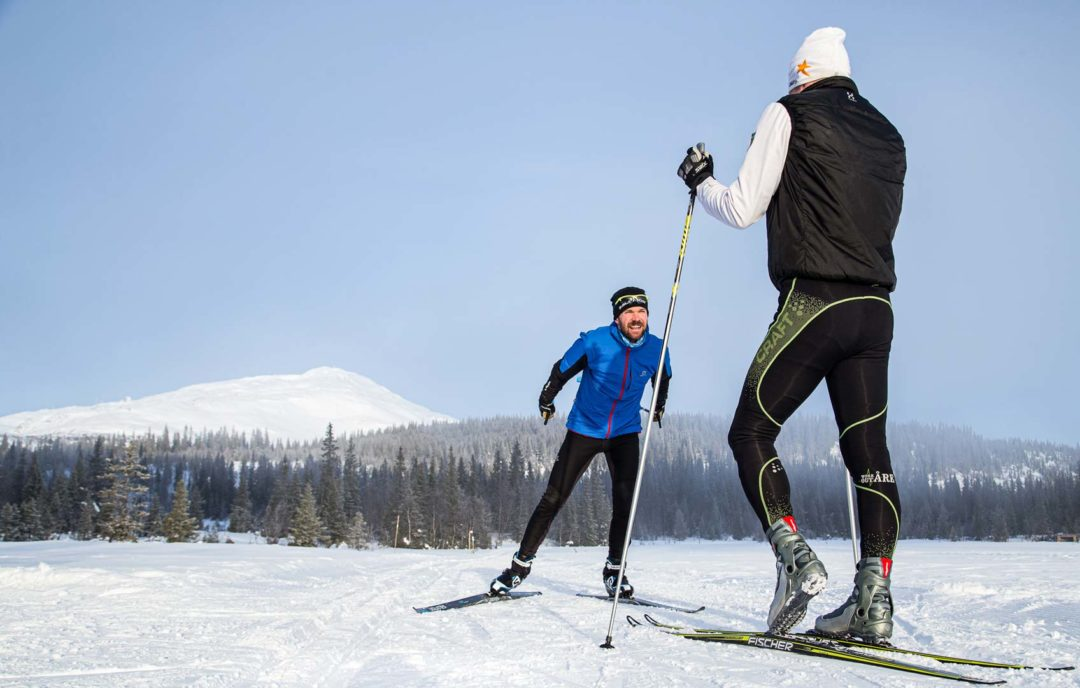 Kurser för längdskidor i åre