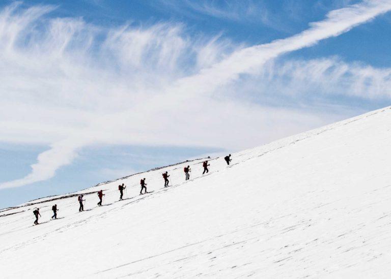 Winter activities in åre.